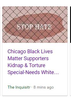 Black Lives Matter Kidnappers